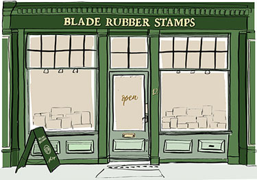 Blade Rubber Art Craft Shop London
